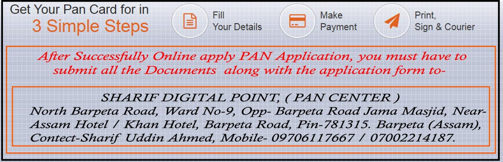 How To Get Pan Card Application Center How To